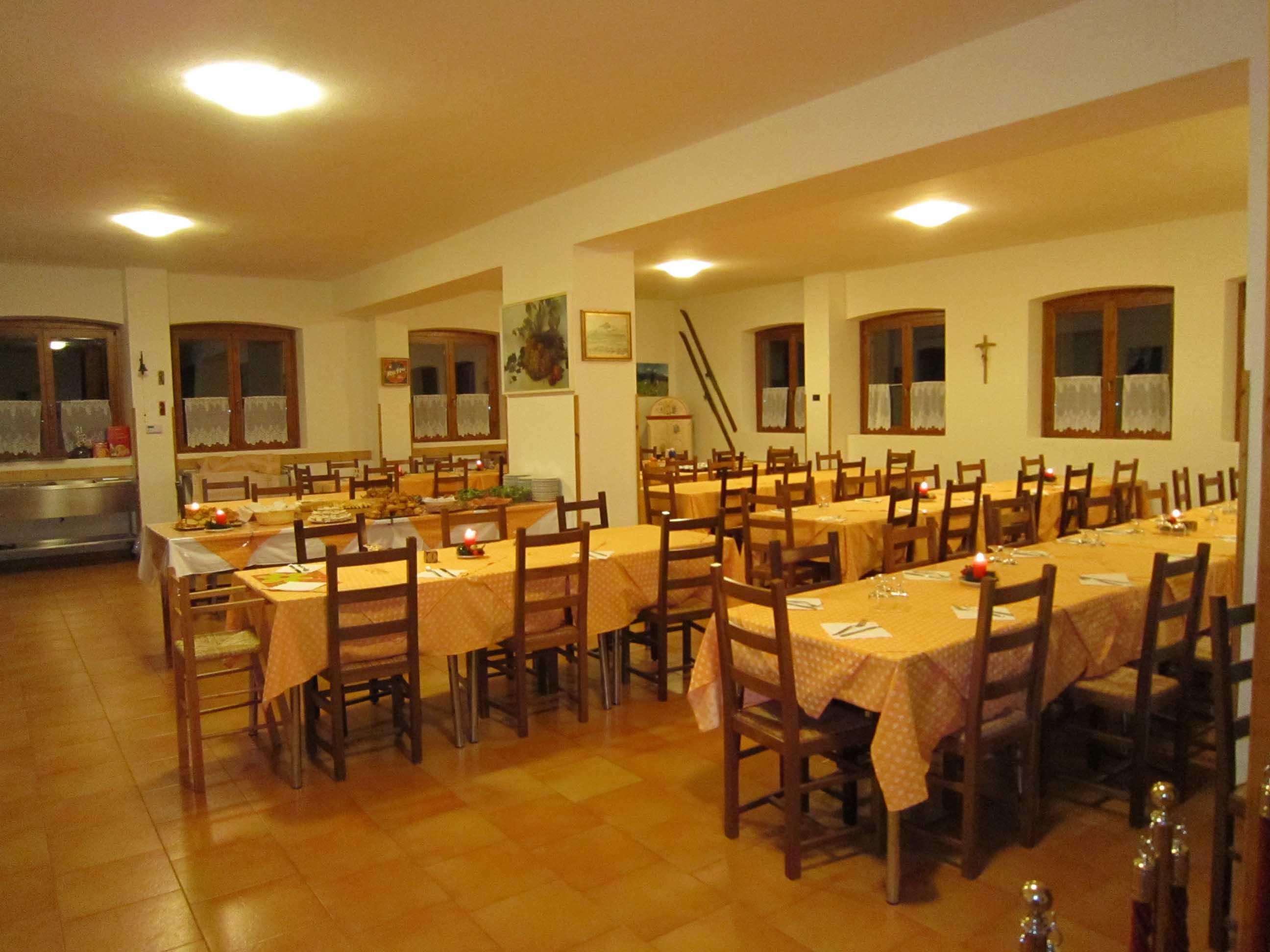 Casa Alpina A Canale D'Agordo (BL) Rif. 358 #BF3704 2592 1944 Sala Da Pranzo Tende