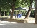 parco con gazebo