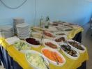 Buffet e servizio ai tavoli