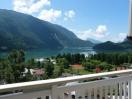 Vista panoramica sul lago di Molveno