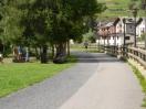 La passeggiata nel parco