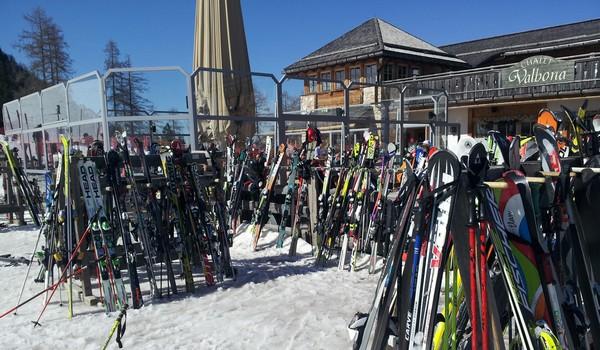 Un weekend sulla neve in Val di Fassa
