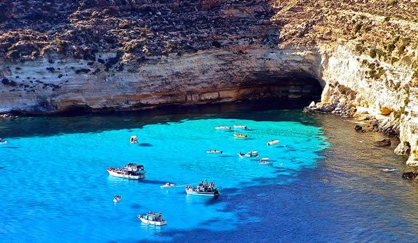 Una vacanza a Lampedusa