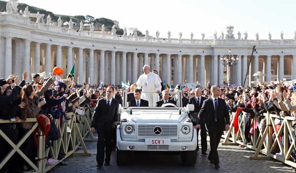 Partecipare alle Udienze Papali del mercoledì a Roma