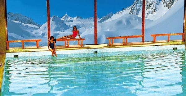 Appartamenti residence a passo del tonale con piscina for Disposizione del piano piscina