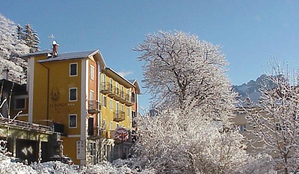 Hotel sulle Dolomiti del Cadore rif. 484