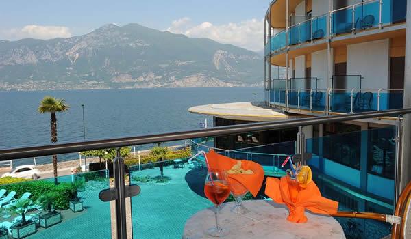 Hotel 3 stelle a Brenzone – Lago di Garda rif. 620