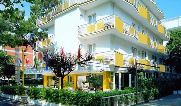 Hotel per giovani e famiglie a Riccione rif.784