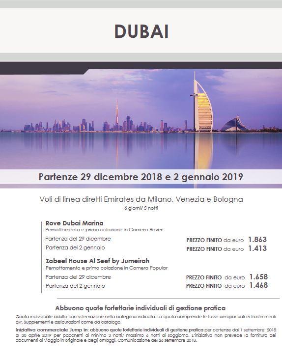 Capodanno ed Epifania a Dubai