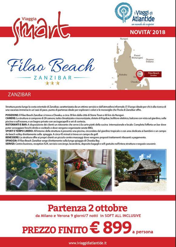 Zanzibar nuova struttura partenza 2 ottobre