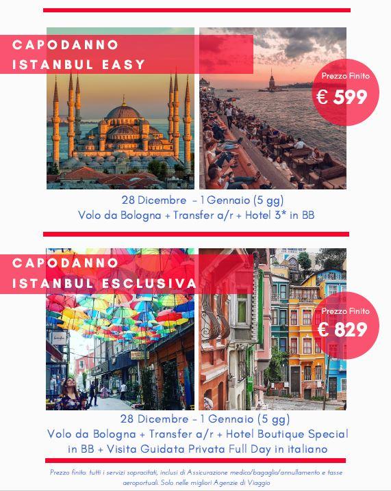 Capodanno a Istambul