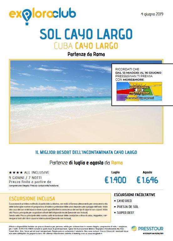 CUBA LUGLIO ED AGOSTO 2019