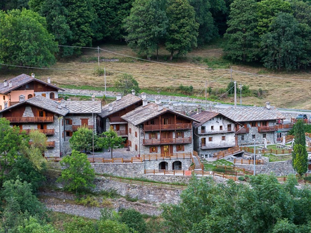 Casa per ferie in Valle D'Aosta Rif 095