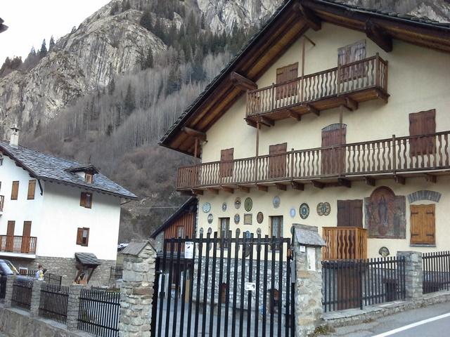 Casa per ferie a Courmayeur Rif 918