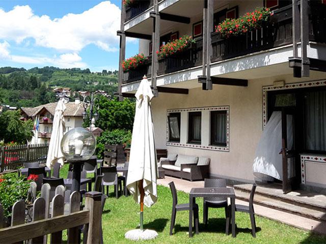Hotel 3 stelle a Cavalese – Val di Fiemme rif. 1058