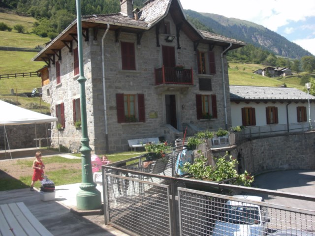 Casa in autogestione in val grosina