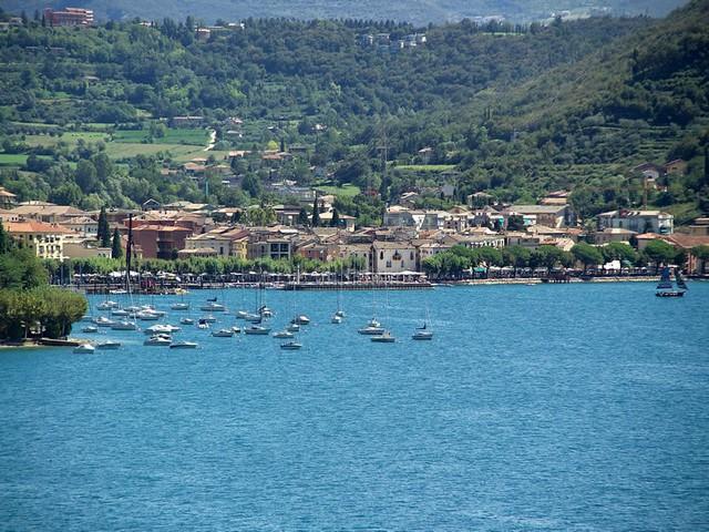 Il lago di Garda al centro della «Fase Vela»