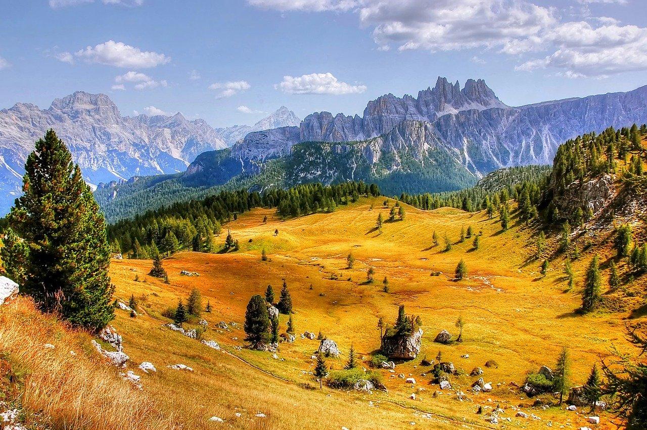 Forte nubifragio a Cortina D'Ampezzo