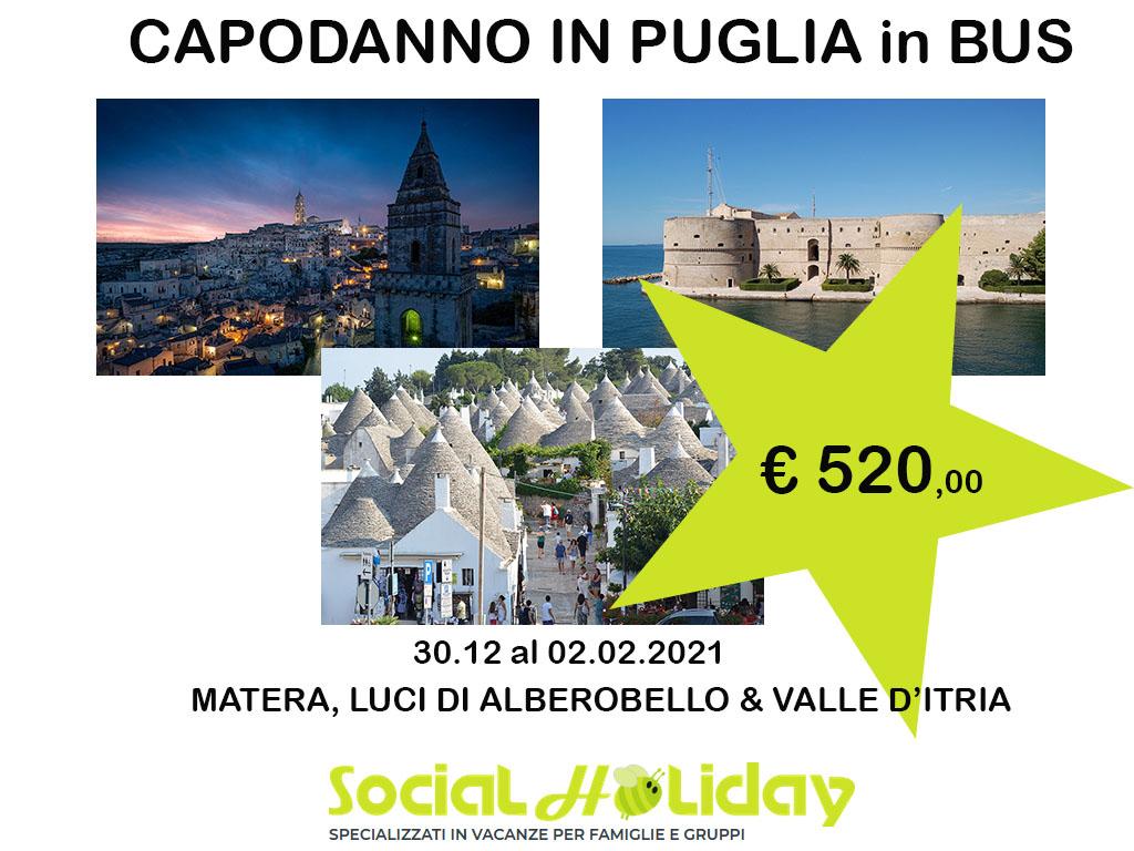 Tour di capodanno in Puglia