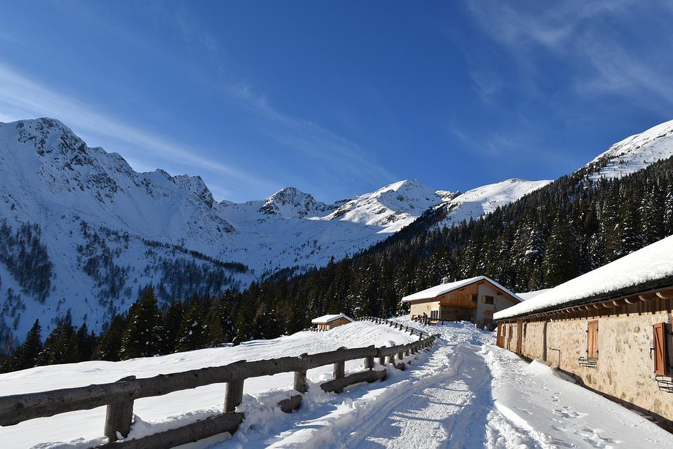 Disponibilità di case in autogestione in montagna per Capodanno ed Epifania